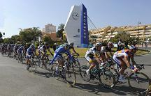 Cycle race Wednesday to Sunday from Almonaster la Real to Estepona
