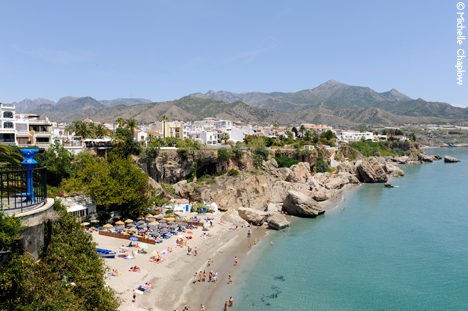 © Michelle Chaplow Picturesque coastal town of Nerja