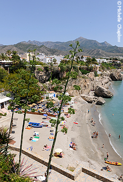 © Michelle Chaplow The Beaches of Nerja are some of the best on the Costa del Sol