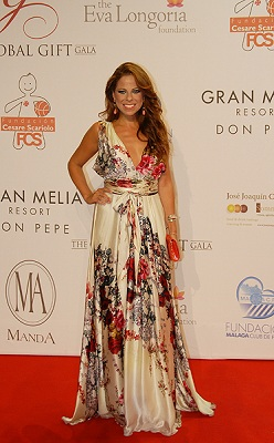 © Michelle Chaplow Pastora at the 2012 Global Gift Gala Marbella