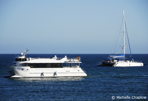 Take the catamaran from Marbella to Puerto Banús. © Michelle Chaplow