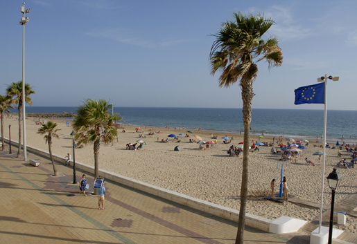 The Rota coastline has plenty of beaches to explore, many awarded with Blue Flag staus for great facilities.