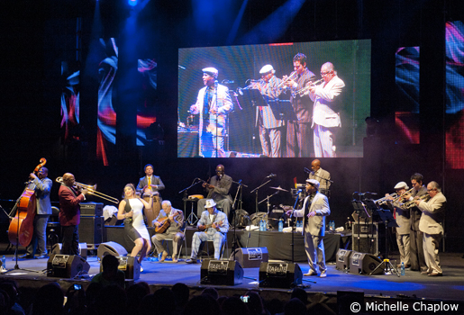Buena Vista Social Club at Starlite Festival 2013. ©Michelle Chaplow