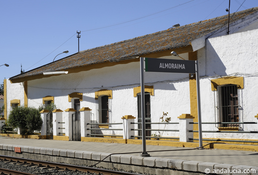 Aloraima station  © Michelle Chaplow .