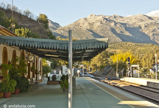 Cortes de la Frontera station is in the Guadiaro Valley  © Michelle Chaplow .