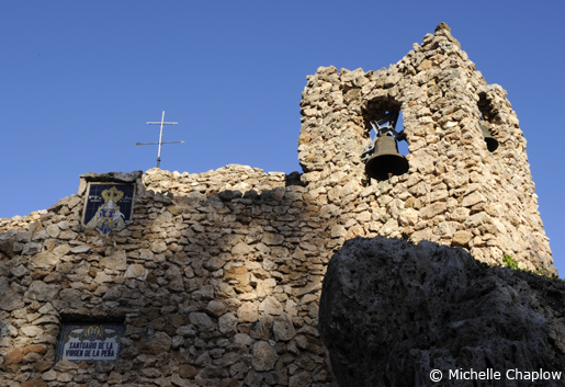 The Virgin of the Rock shrine in Mijas ©Michelle Chaplow