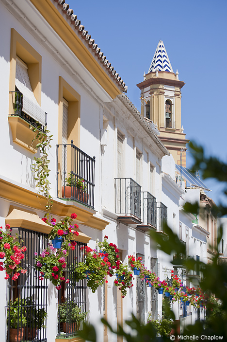 Old world charm, in the historic quarter of Estepona.  © Michelle Chaplow