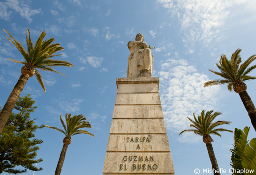 In 1295 Guzman El Bueno defended Tarifa town against the invading Moors.. © Michelle Chaplow