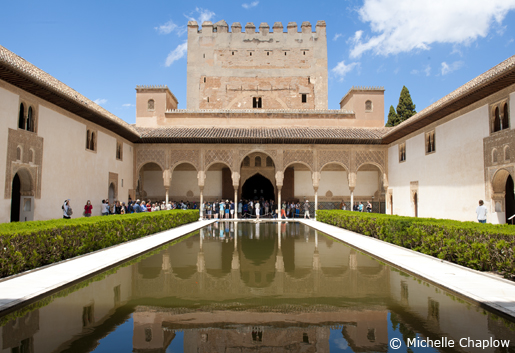 El Patio de los Arrayanes. © Michelle Chaplow