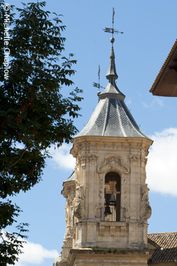 The bell tower of San Juan de Dios church. © Michelle Chaplow