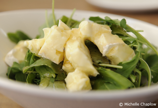 Rocket salad with brie and honey at San Telmo. © Michelle Chaplow