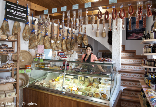 Sabores de Grazalema stocks a wide range of meats and conserves, as well as local honey and baked goods. © Michelle Chaplow