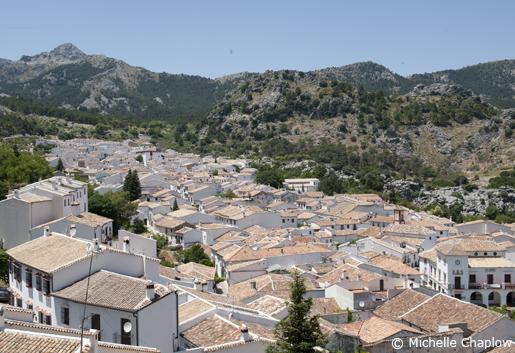 The charming white village of Grazalema in Cadiz province. © Michelle Chaplow