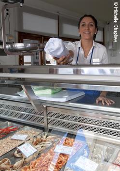 Fresh seafood in El Puerto de Santa Maria. © Michelle Chaplow