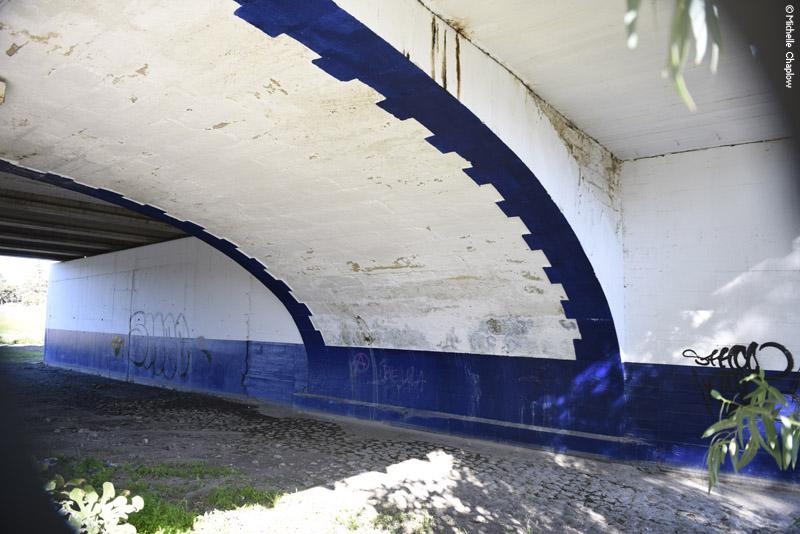 The original bridge created by Engineer Pablo Alzola. ©Michelle Chaplow