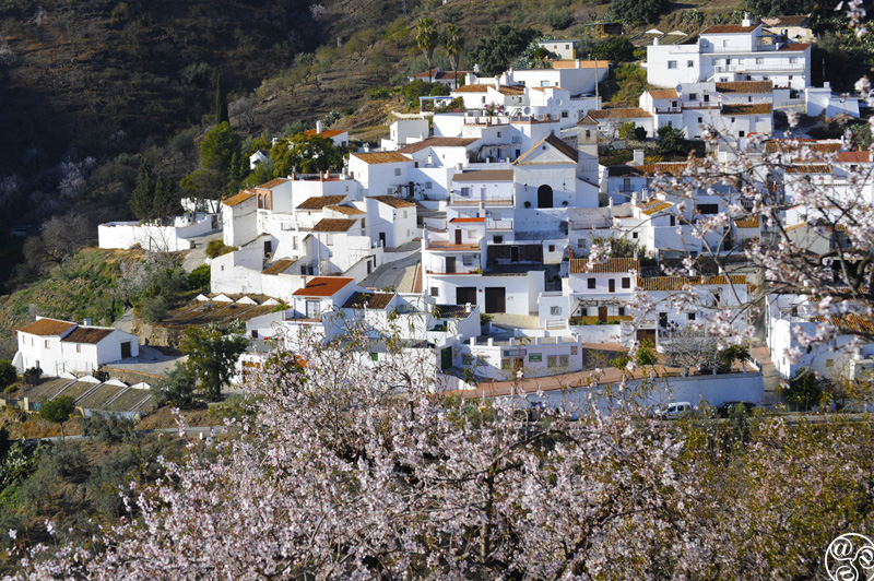 In springtime, with the almond blossom in bloom this remote little hamlet, is a picture postcard. ©Michelle Chaplow