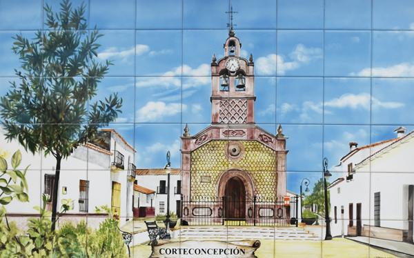 Ceramic Mural - Corteconcepción ©Michelle Chaplow