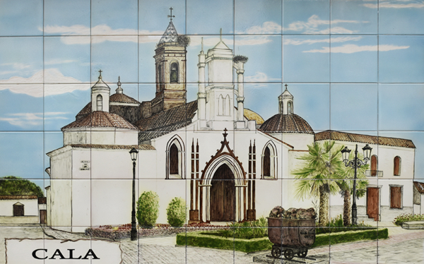 Ceramic Mural - Cala ©Michelle Chaplow