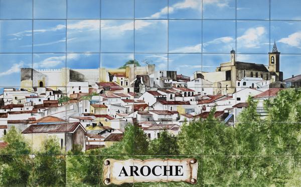 Ceramic Mural - Aroche ©Michelle Chaplow