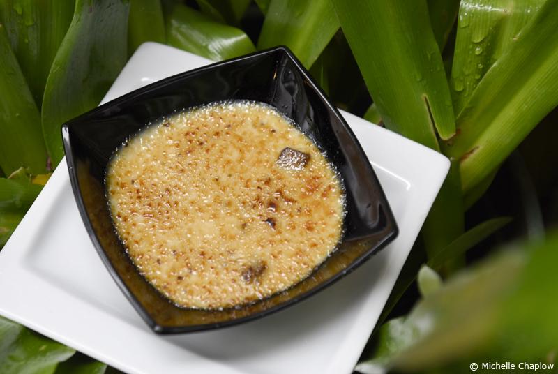 Poleá con azúcar moreno. A traditional village recipe made with, milk, lemon grass, aniseed, brown sugar and sweet acorn flour ©Michelle Chaplow