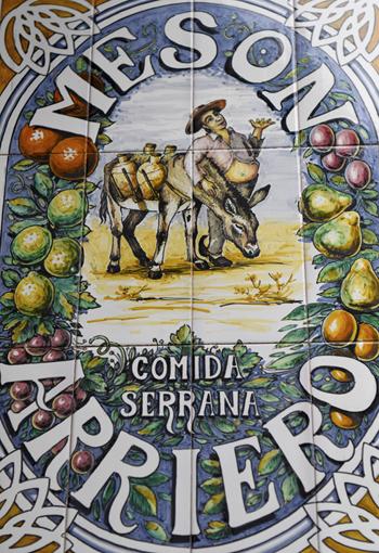 Meson Arrieo Comida Serrana ©Michelle Chaplow