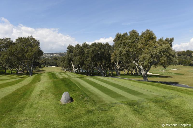 Top notch golf, Valderrama Golf course ©Michelle Chaplow