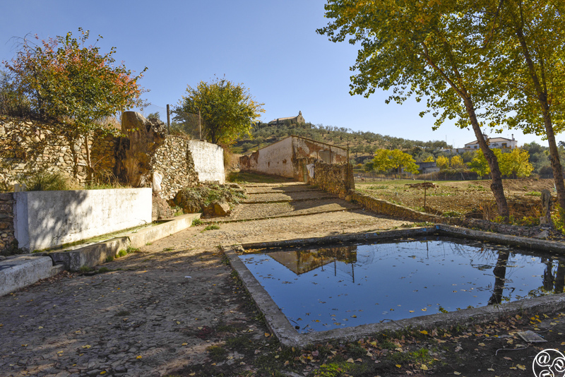 A natural Arab spring, Fuente de Pilatas, once the source of water for the village, now only used for agricultural purposes ©Michelle Chaplow