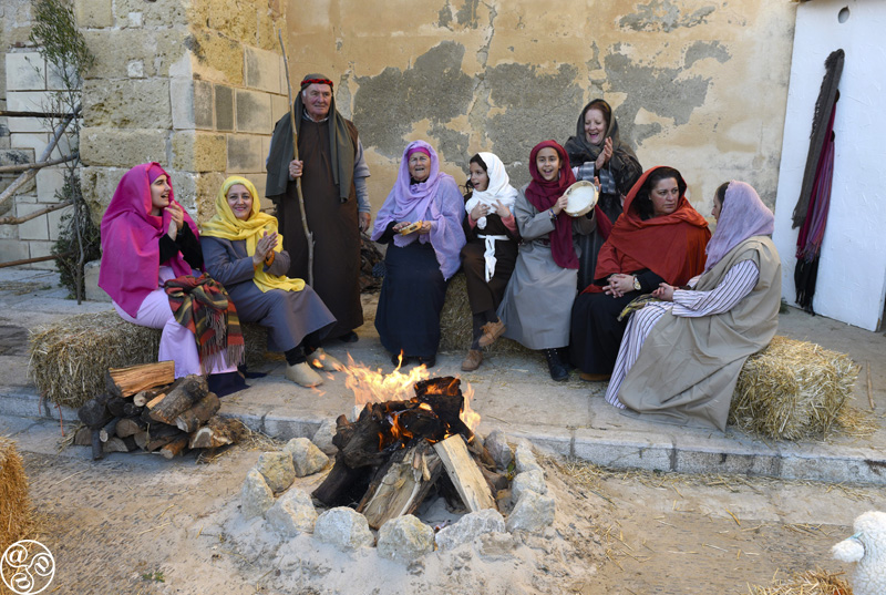The route around the old town has about 30 different scenes tracing the nativity story from the Visitation to the Birth, and takes a leisurely two hours depending on your stops. ©Michelle Chaplow