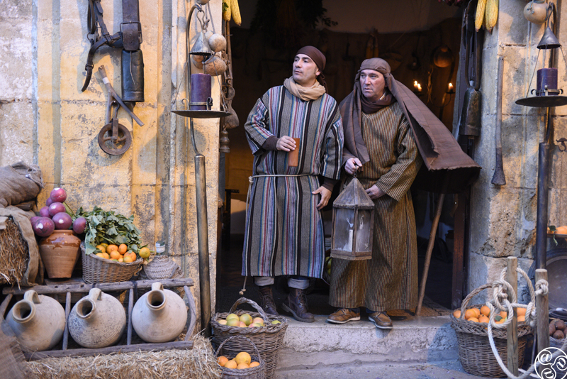Once a year whole of the historic centre of Arcos de la Frontera, is transformed into a live nativity scene. ©Michelle Chaplow