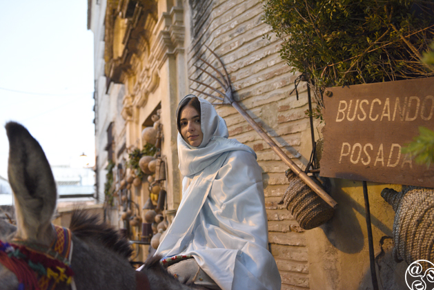 No room at the Inn for Mary ©Michelle Chaplow
