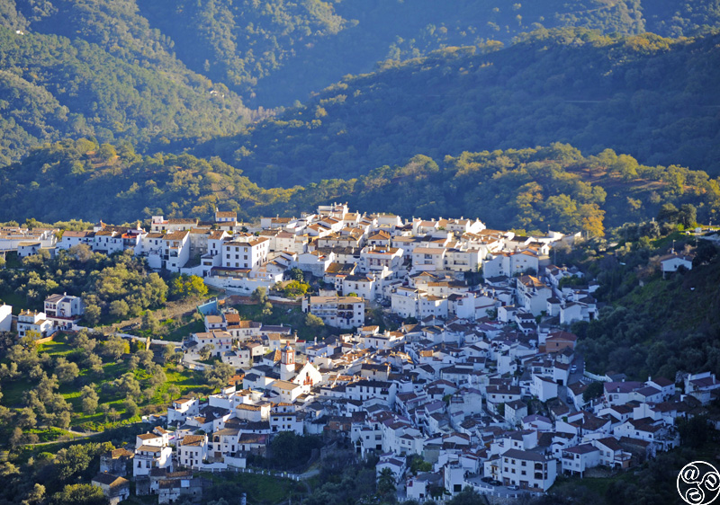 The village of Benarrab Beautifully nestled in the Serrania de Ronda ©Michelle Chaplow