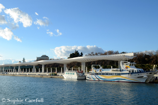 Boat trips and excursions from Malaga port. © Sophie Carefull
