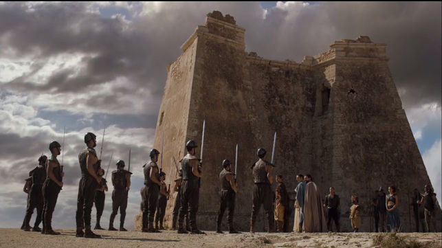 Mesa Roldan Fort as a building in Meereen in Game of Thrones ©