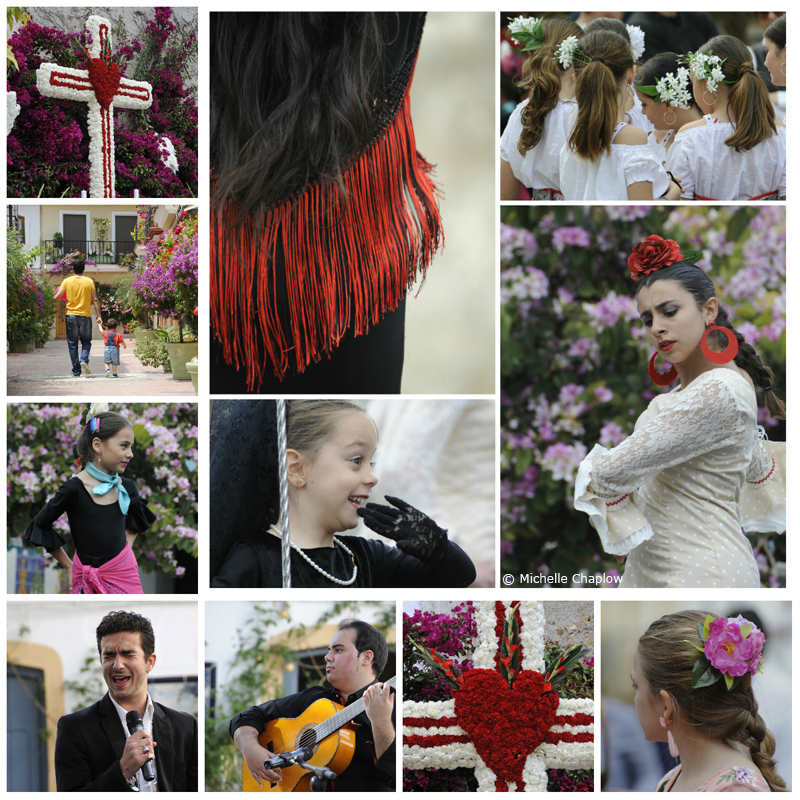 The May Crosses in Etstepona. A festival for all the family. (Click to enlarge Photos) ©Michelle Chaplow