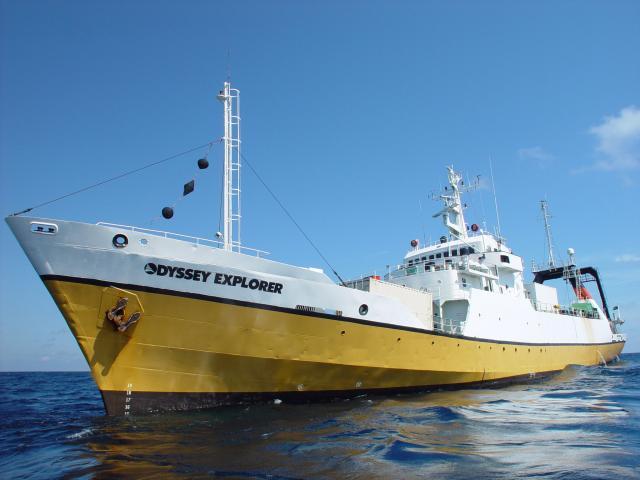 The 251-foot Odyssey Explorer ©  shipwreck.net