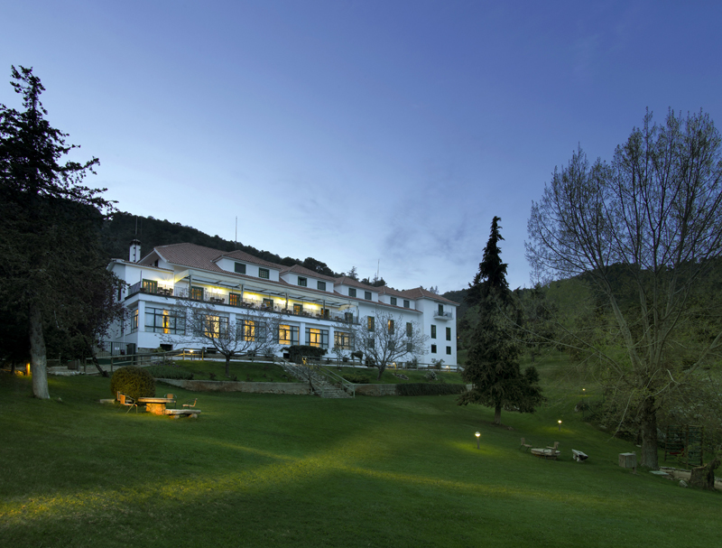 The Parador is surrounded by a beautiful nature ©Paradores