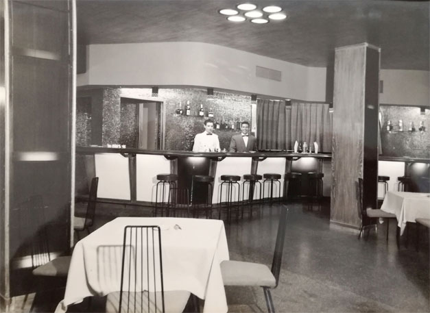 Pez Espada Hotel bar made famous by Frank Sinatra in 1964 ©Med Playa Hotels