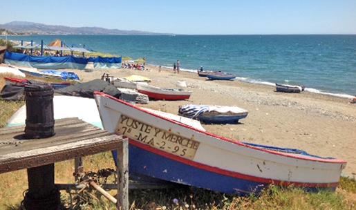 Playa Lindavista, San Pedro Marbella.