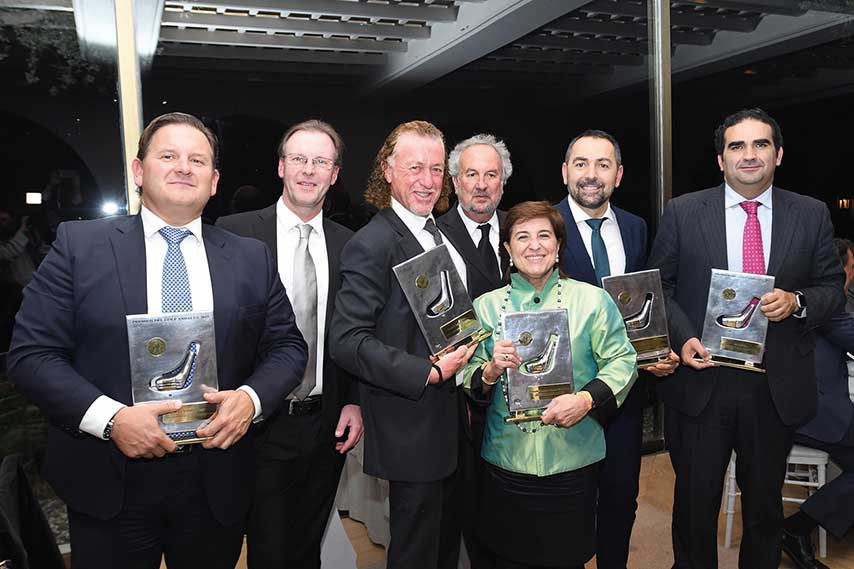 Prize Winners - Andalucian Golf Awards ©Andalucian Golf Awards