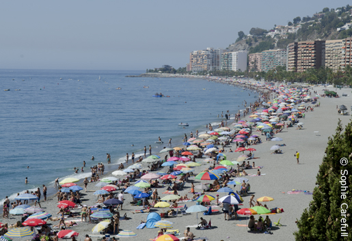 Playa De Velilla Is A Long Beach With Lots Of Good Facilities