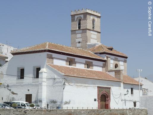 Iglesia de Nuestra Señora del Rosario, Salobreña. © Sophie Carefull