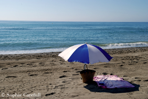 The beach awaits in Torremolinos. © Sophie Carefull