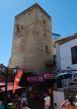 The 14th Century Torre de Pimentel. © Sophie Carefull