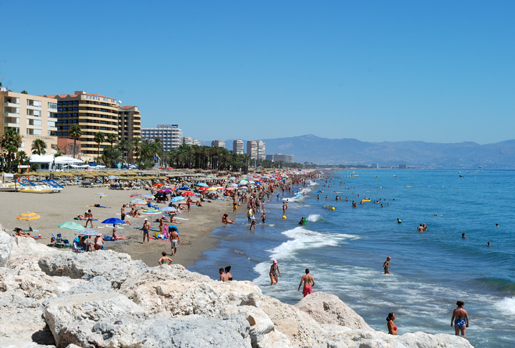 Torremolinos Spain  city images : Torremolinos Spain Beaches