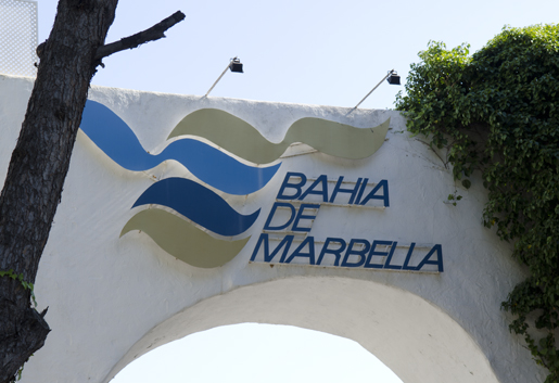 Bahia de Marbella is a luxury urbanisation just east of Marbella. © Sophie Carefull