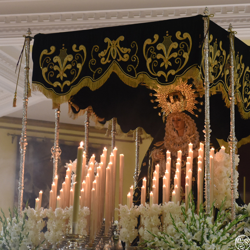 Holy week in Estepona. Our lady of Hope Virgin de la Ezperanza ©Michelle Chaplow