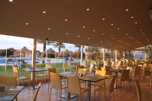 Restaurant at the Tryp Malaga Guadalmar Hotel