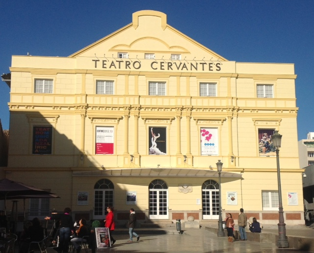 © Chris Chaplow Facade of Teatro Cervantes Malaga