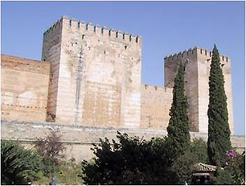 The oldest part of the Alhambra, the fortress. © Lawrence Bohme