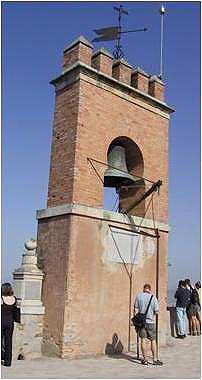 The bell tower and viewpoint. © Lawrence Bohme